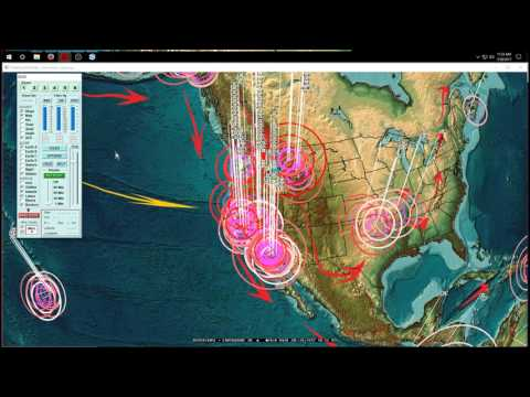 7/26/2017 -- West Coast + Midwest USA Earthquake Update -- Swarms pointing towards larger movement
