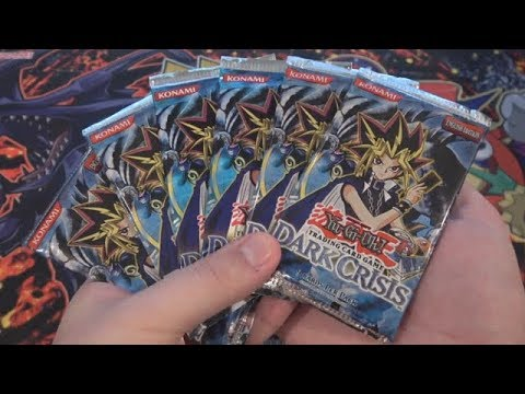 Yugioh Dark Crisis  Opening 6 Packs - Original Series Packs!