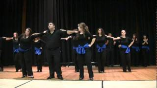Diaspora Hellenic Dance Group - Greek Food Festival 2011 Syrtaki (3709).mpg