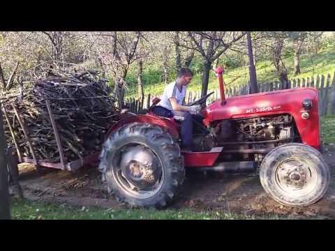 Imt 533 izvlacenje drva - YouTube