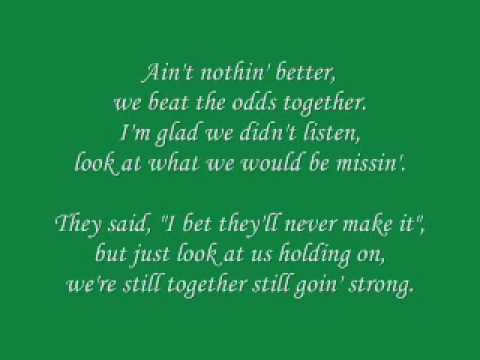 Shania Twain - You're Still The One Lyrics and Free ...