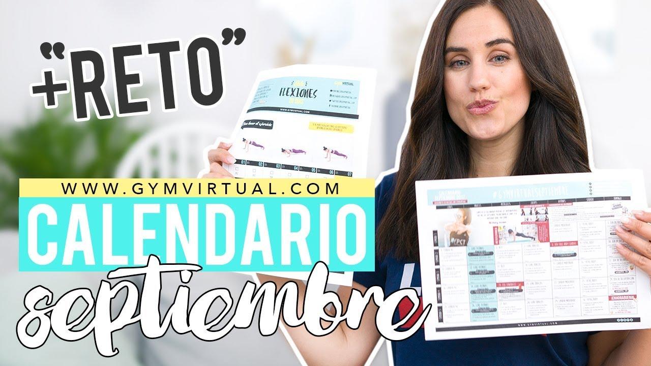 Calendario Septiembre Gymvirtual.Presentacion Calendario De Entrenamiento Septiembre Reto Flexiones Gymvirtual