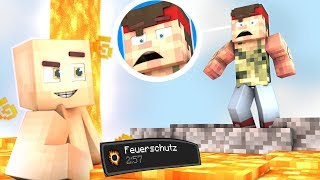EPISCHER Feuer TROLL an REWI 😅 Minecraft Hide and Seek