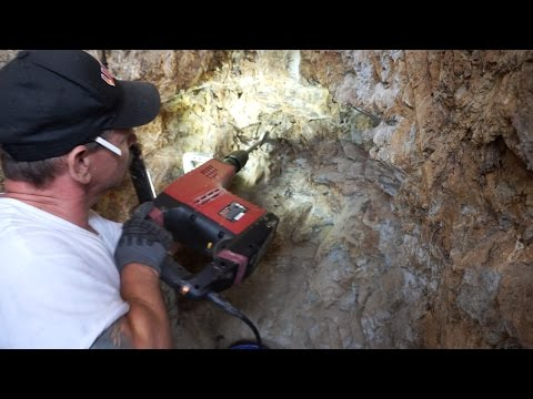 Our Hard Rock Gold Mine | Initial Testing