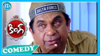 Brahmanandam Back To Back Funny Scenes - King Movie