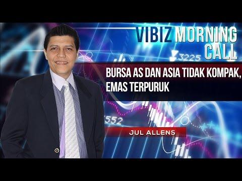 Bursa AS dan Asia Tidak Kompak, Emas Terpuruk , Vibiznews 12 Maret 2015