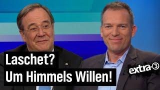 "Kanzlerkandidat Armin Laschet bei ""Farbe bekennen"""