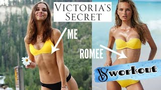 HOW TO WORK OUT LIKE A VICTORIA'S SECRET MODEL | SANNE VANDER