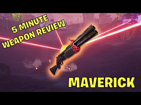 Fortnite 5 Minute Weapon Review: Maverick