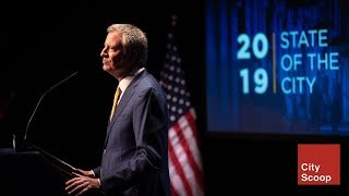 2019 State of the City, Paid Personal Time legislation, NYC Care for Uninsured New Yorkers
