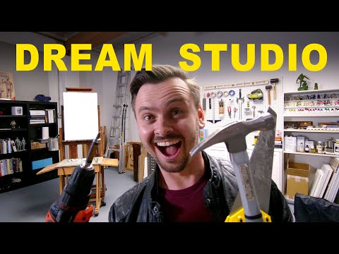 Building a Dream Art Studio