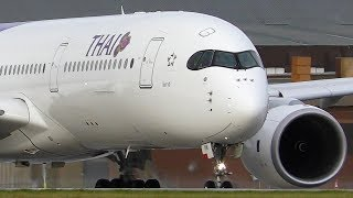 VERY CLOSE AIRCRAFT TAKEOFFS   787 A350 A330   Melbourne Airport Plane Spotting