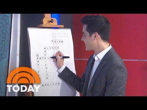 'Blindspot' Puzzle Creator Tests TODAY Anchors Crossword Knowledge | TODAY