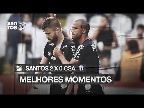 SANTOS 2 X 0 CSA | MELHORES MOMENTOS | BRASILEIRÃO (29/09/19)