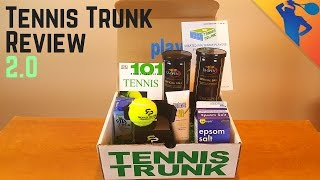 Tennis Trunk Review 2.0 (September 2016) I Monthly Tennis Subscription Box!