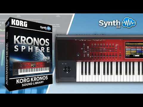 KRONOSPHERE SOUND BANK | KORG KRONOS | Synthcloud Library by Synth Cloud