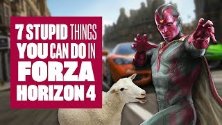 7 Stupid Things You Can Do In Forza Horizon 4 - Forza Horizon 4 Gameplay