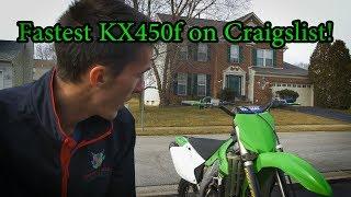 2007 KX450F: Buying a New Dirt Bike!
