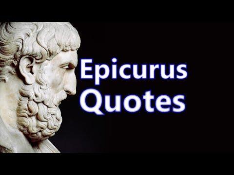 Epicurus Quotes. Ancient philosophy.