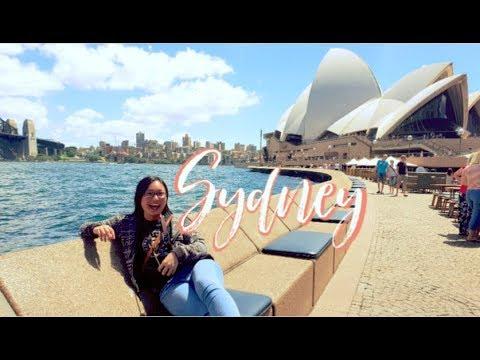 Sydney Vlog [Part 1] | Exploring The Chinese Gardens & USyd
