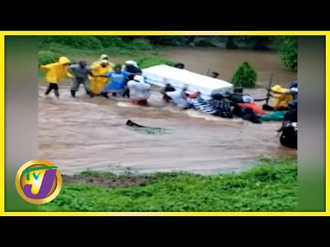 Tropical Storm Ida | Sections of Clarendon Still Flooded - August 27 2021