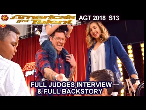 Michael Ketterer Golden Buzzer Judges Interview &FULL BACKSTORY America's Got Talent 2018 Auditions
