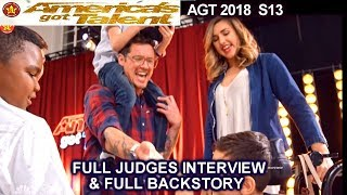 Michael Ketterer Golden Buzzer Judges Interview &FULL BACKSTORY America's Got Talent 2018 Auditions - Stafaband