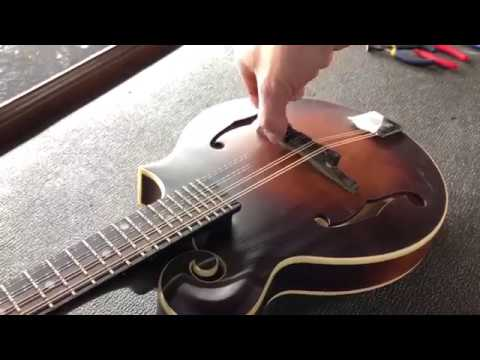 Tech Tip– How to Adjust Mandolin Action Height