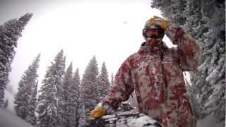 Early Season Powsurfing at Brighton & the Northern Utah Backcountry