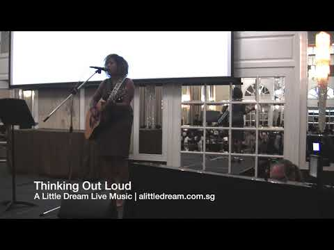 Leandra on vocals - Thinking Out Loud/The Way You Make Me Feel/Valerie