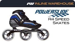 2017 Powerslide R4 Speed Skates Review