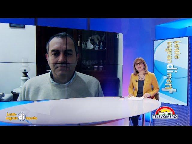 LENTE DI INGRANDIMENTO CON IL SINDACO DI NAPOLI LUIGI DE MAGISTRIS 5 GENNAIO 2021
