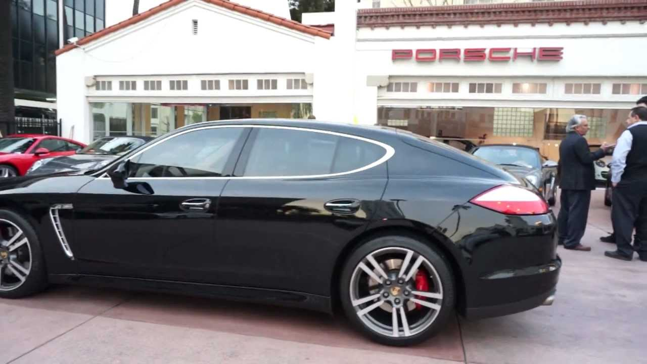 2011 Porsche Panamera Turbo Black Cognac Comfort Pkg Now