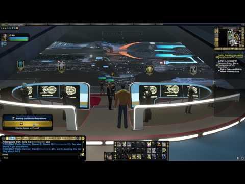 STAR TREK ONLINE - Sphere Builder Denuos Dreadnaught Carrier [T6], 73k ISA (088 minute's, Voice)