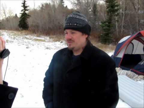 Occupy Saskatoon evicted from Gabriel Dumont Park Nov 14 2011