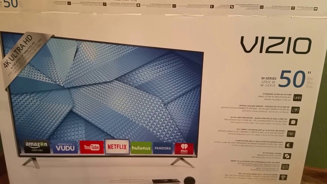 Vizio m series 4k ultra high definition tv pt 1 2 youtube - Ultra high def tv prank ...