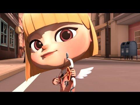큐피드(Cupid)-마음에 드는 남자를 발견한 큐피드의 선택은..?-청강 애니메이션 2016년 졸업작품(animation)