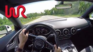 2016 Audi TT Coupe 2.0T quattro S tronic - WR TV POV Test Drive