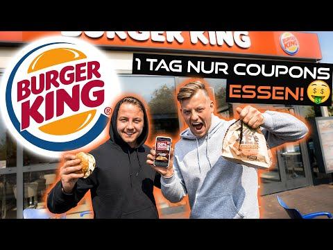 24 Stunden nur BURGER KING COUPONS ESSEN *40€ gespart*