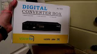 Unboxing the 1byone HD Antenna + ViewTV AT-163 Receiver!
