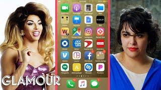 Shangela Hijacks a Stranger's Phone | Glamour thumbnail