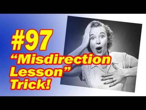 Best MisDirection Tools, Tips, and Tricks?   theory11 forums