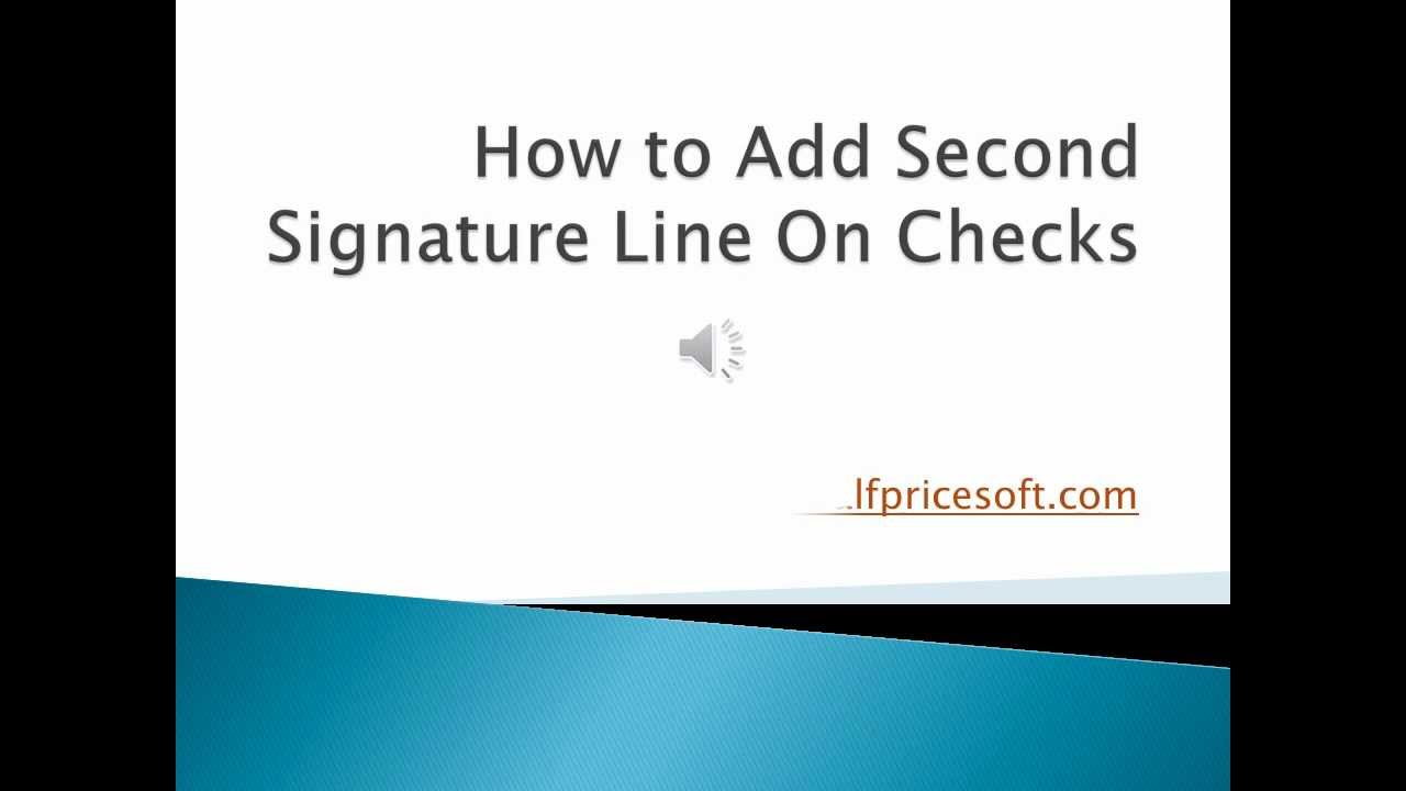 how to add a second signature to pdf