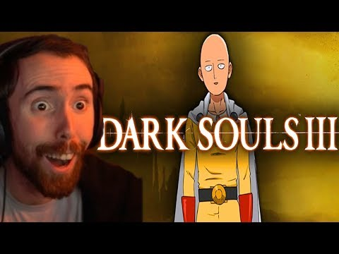Asmongold Is BLOWN AWAY By Dark Souls 3 in 1 Hit Video