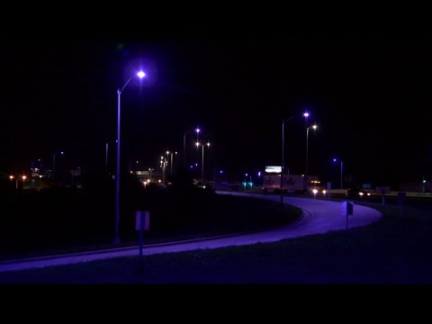 Street lights change due to defect?  - OR is it the VACCINE BIOWEAPON - BIOMARKER!