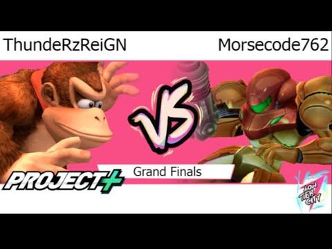 LTC7  - P- | ThundeRzReiGN (DK, C Falcon) Vs Morsecode762 (Samus) Grand Finals - P+