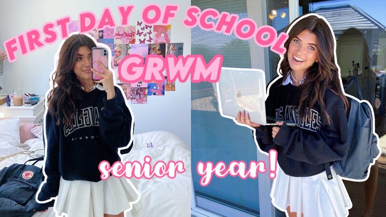 First Day Of High School Grwm Senior Year Youtube Senior prom *grwm vlog* подробнее. first day of high school grwm senior year