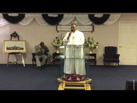 A Close Encounter With the Holy Ghost Act 3:1-10 - Elder Clarence Saunders