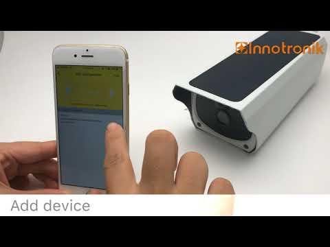 Innotronik Solar Battery Camera Microshare Version
