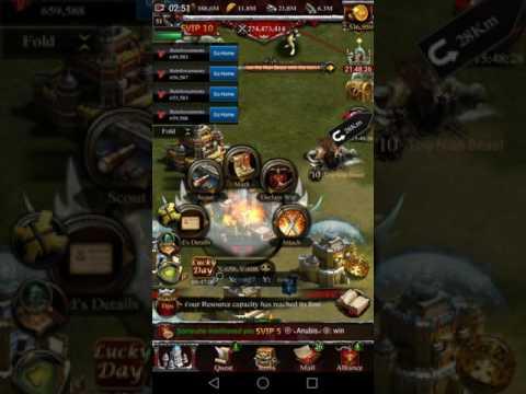 Clash of kings - Kingdom Conquest - K1305 VS K414